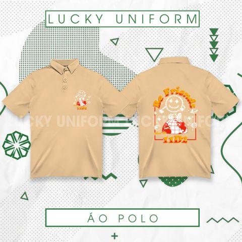 Áo Polo Be